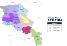 Armenia Map - Political