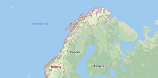Norway Google Map