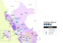 Peru Map - Political